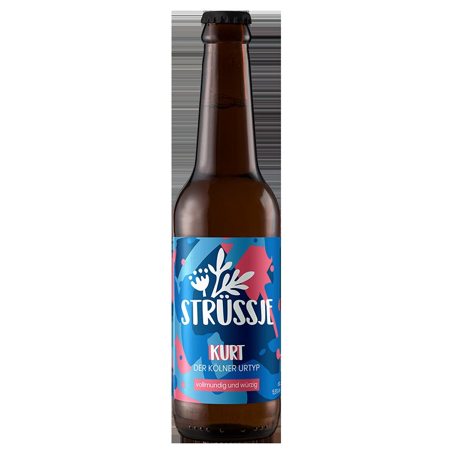 Strüssje Bier Köln - Kurt Rückseite